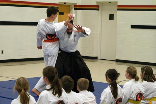 Aikido at Riverbend Academy