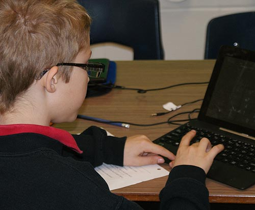 Tablets and TechnoKids at Riverbend Academy