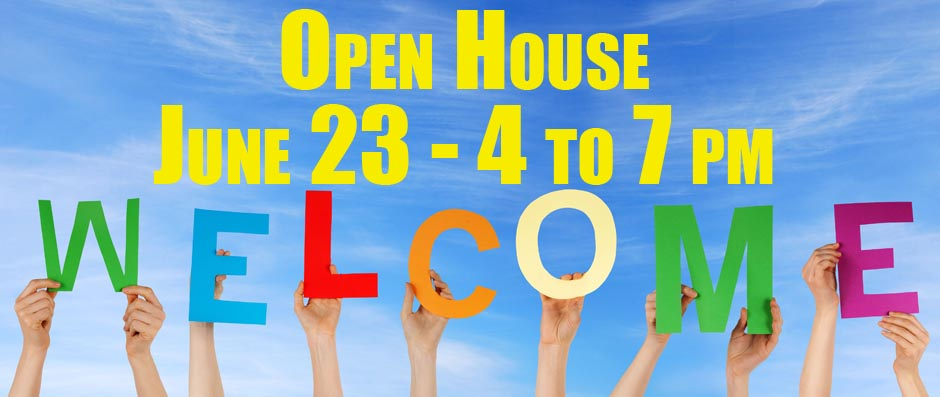 Riverbend Academy Open House June 23 from 4 to 7 pm