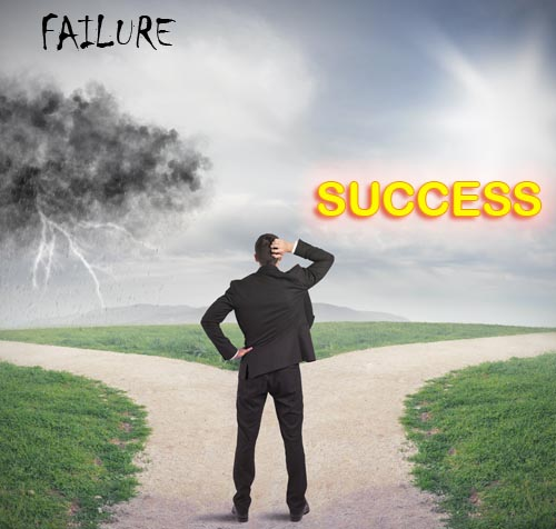 Flawed vision of the road to success